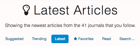 Read latest medical articles and papers on metajournal